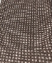 Vintage Dark Brown with Stars and Dots 100% Cotton Quilt Fabric USA - $8.59