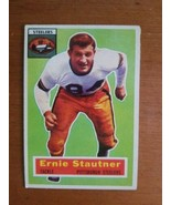 1956 Topps #87 Ernie Stautner  Steelers No Crease Good Color - $9.90