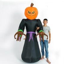 Inflatable Halloween Pumpkin Ghost Yard Ghosts Airblown Decoration Light... - £132.75 GBP