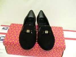 Donna Tory Burch Pantofola Chanda Mocassini Nero Numero 6.5 USA - $194.10