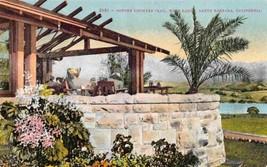 Potter Country Club Hope Ranch Santa Barbara California 1910c postcard - $6.44