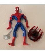 "Spiderman Action Figure 11.5"" Talking Articulated Marvel Hasbro Light Up... - $19.99"