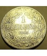 Selten Südafrika 1895 Silber Schilling ~ Ein Of The Schlüssel Daten - $202.10