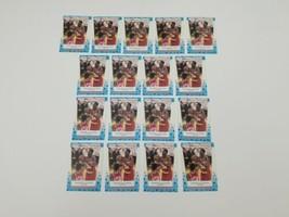 1989 Fleer All Star Stickers Akeem Olajuwon #2 Basketball Cards Lot of 17 NBA - $24.18
