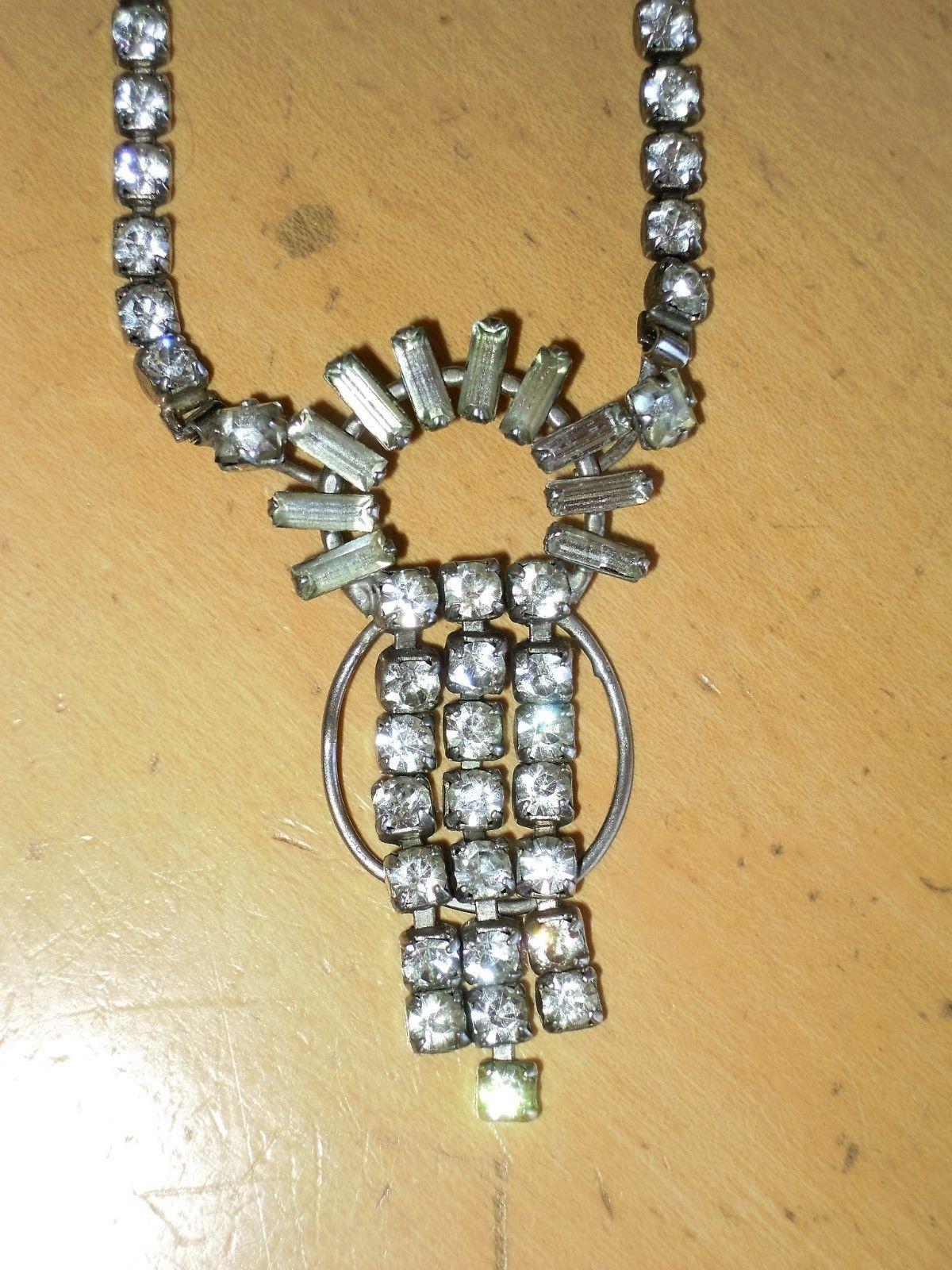 "30/"" Vintage Sterling Silver Marcasite Lariat   39 Grams"