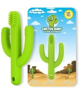 Cactus Baby Teething Toys Toothbrush | Self-Soothing Pain Relief Soft Si... - $11.99