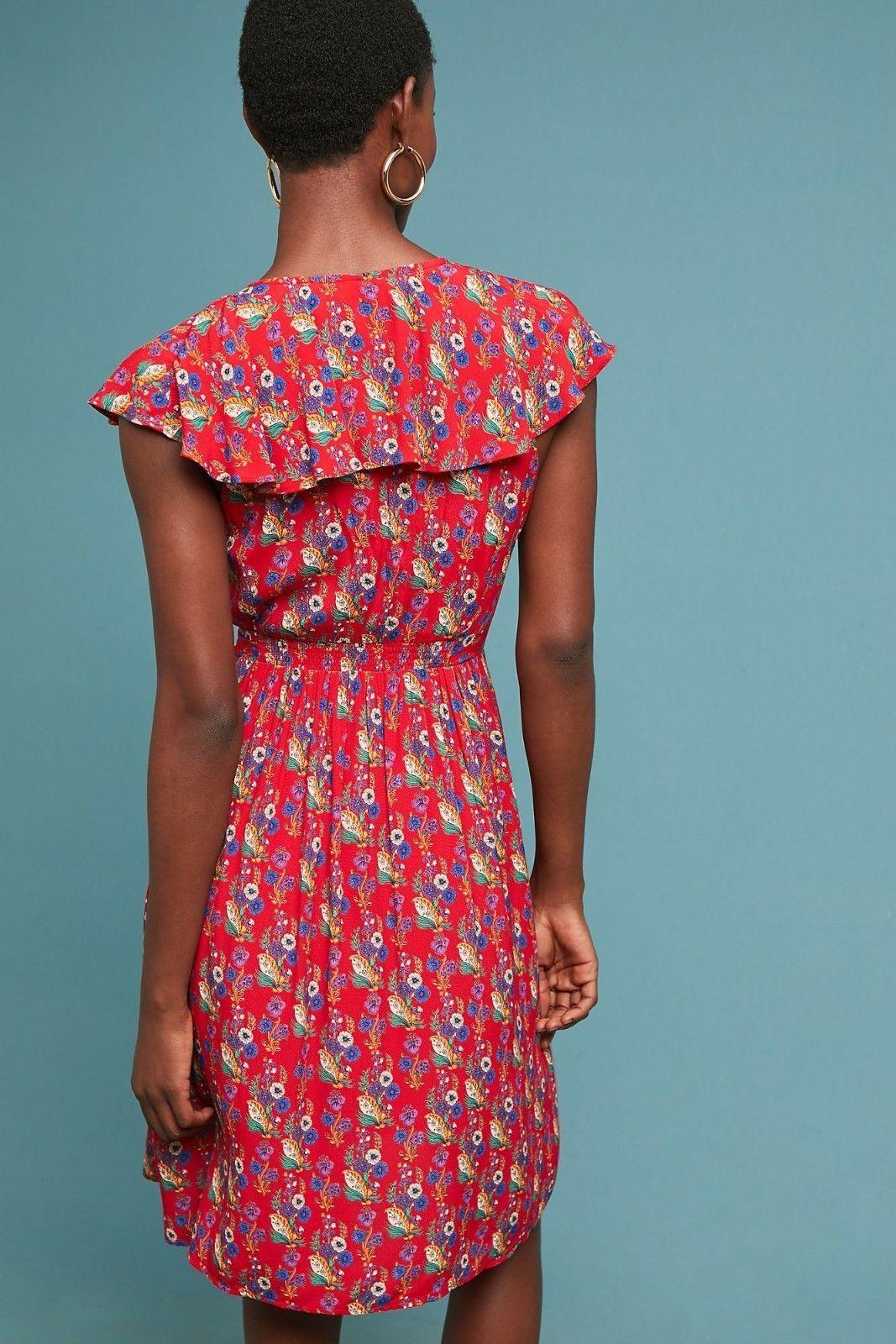 Anthropologie Rosalia Wrap Dress by Maeve $158 - NWT