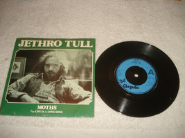Jethro Tull Moths/Life is a long song 45 Record mint sleeve 1978 - $49.49