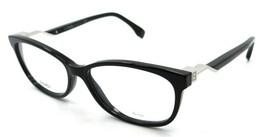 Fendi Rx Eyeglasses Frames FF 0233 807 54-15-140 Black Made in Italy - $137.20