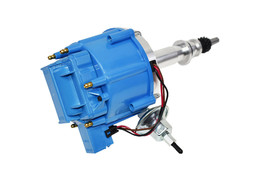 64 65 66 67 68 FORD MUSTANG STRAIGHT 6 CYL 170 200 HEI DISTRIBUTOR BLUE image 2