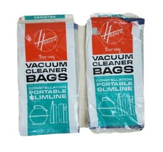 Hoover Constellation Portable Slimline Vacuum Cleaner Bags 7 Count  - $15.67