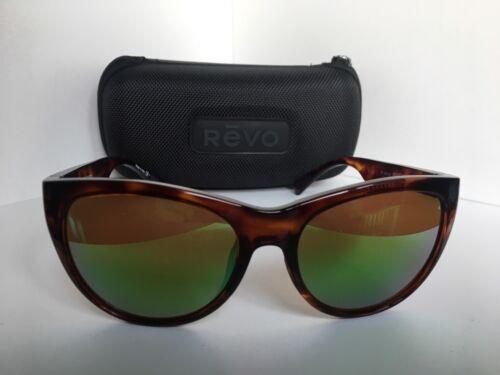 e6bf40939 New Polarized REVO RE1037 02 Barclay Tortoise Mirrored Sunglasses - $119.99