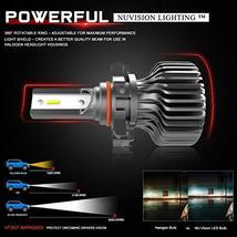 NUVISION LIGHTING NVL-SLS-9005 Nuvision Pair 9005 HB3 Bulbs 20000 Lumens 200W Sl image 4