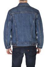 Levi's Men's Cotton Button Up Denim Jeans Trucker Jacket Shelf Blue 723340136 image 3