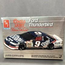 AMT/ERTL Coors Light Bill Elliott Ford Thunderbird 6740 Model Set 1:25 1991 - $11.93