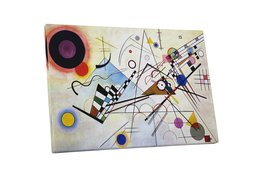 "Pingo World 0527QOF0AX4 ""Composition VIII By Kandinsky"" Gallery Wrapped Canvas A - $54.40"