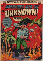 Adventures Into The Unknown Comic Book #43, ACG 1953 VERY GOOD+ - $49.26