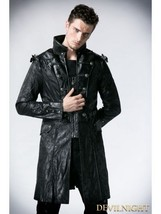 WINTER MEN LEATHER COAT TAILOR MADE REAL GENUINE LEATHER TRENCH COAT -22