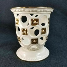 Lenox Illuminations Florentine and Pearl Porcelain Votive Candle Holder ... - $25.90