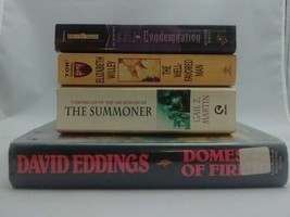 Lot Of Four Fantasy Books. David Eddings. Gail Z. Martin. Baker. Willey. - $10.00