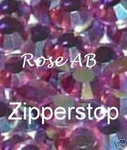 72 Swarovski Crystal Rhinestones ~30ss~ Rose AB - $17.77