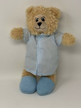 "Petting Zoo Plush Teddy Bear in Slippers & Robe Stuffed Animal 12"" Spa G... - $12.88"