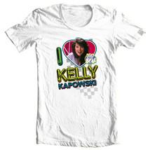 Kelly Kapowski Saved by the Bell t-shirt 1980's retro teen TV show NBC144 image 2