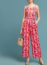 Anthropologie Charlee Jumpsuit by Numph $168 Sz L - NWT - $79.19