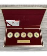 2008 Beijing Summer OLYMPIC Games Mascot Commemorative Medallion Coin Set  - $84.00