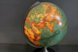 Columbus Verlag Paul Oestergaard Duplex Light Up World Globe Lamp Earth image 1