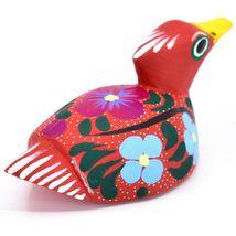 Handmade Alebrijes Oaxacan Wood Carved Painted Folk Art Duck Figurine image 4