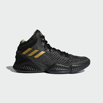 Adidas BasketBall Men's Mad Bounce 2018 Street Basketball Black Shoes B4... - €111,71 EUR