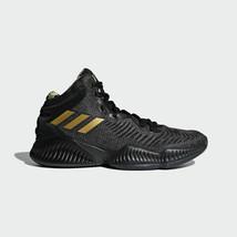 Adidas BasketBall Men's Mad Bounce 2018 Street Basketball Black Shoes B4... - £101.14 GBP