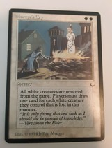 Martyr's Cry The Dark Played White Rare Magic The Gathering Card - $4.94