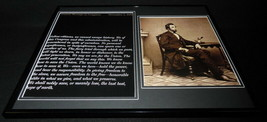 Abraham Lincoln 1862 Message to Congress Framed 16x20 Photo Display - $79.19