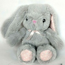 Toys R Us Baby So Sweet Gray Easter Bunny Rabbit Plush Stuffed Animal 20... - $33.06