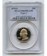 1979 S 25C Washington Quarter Proof PCGS PR69DCAM T1 - $18.69