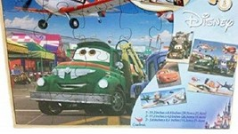 Disney Planes and Cars 7 Wood Puzzle Set Jigsaw Puzzle - $14.85