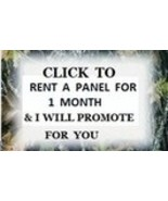 I Will Advertise For You Monthly Package  - $15.00