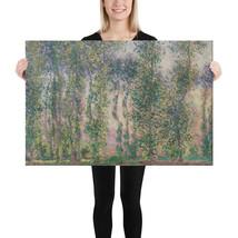 Canvas Print - Poplars at Giverny - Claude Monet - $44.50+