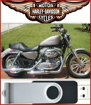 2007 Harley-Davidson Sportster XL Service Repair & Electrical Manual USB Drive - $18.00