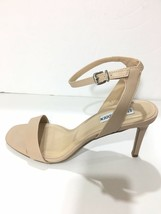 Steve Madden Women's Sz 10 Ankle Strap Leather Sandal Nude High Heels NEW - $19.14
