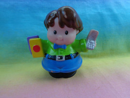 2006 Fisher Price Little People Man Father Dad with Cell Phone - as is - $2.54