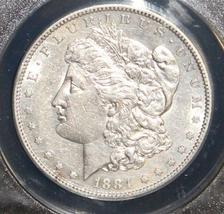 1884 S AU 50 Almost Uncirculated Scarce Key Date Brilliant Morgan Silver Dollar - $239.95
