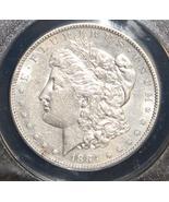 1884 S AU 50 Almost Uncirculated Scarce Key Date Brilliant Morgan Silver Dollar - $239.95