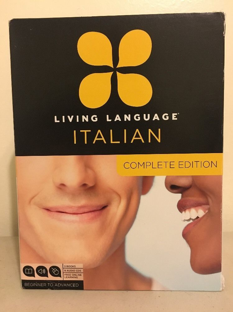 Complete Set Living Language Italian (2011, All Media Included, Like New)