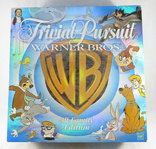 Trivial Pursuit WARNER BROS. All Family Edition © 1999 Hasbro Complete - $30.00