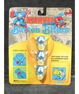 Marvel Superheroes Button Biters Captain America - $8.91