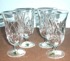 Waterford Ballylee Iced Beverage 4 PC. Set Crystal Made/Ireland 12oz New... - $379.90