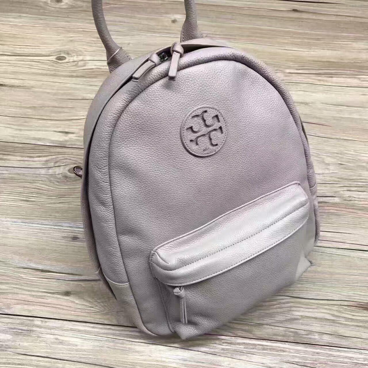 New Tory Burch Leather Backpack